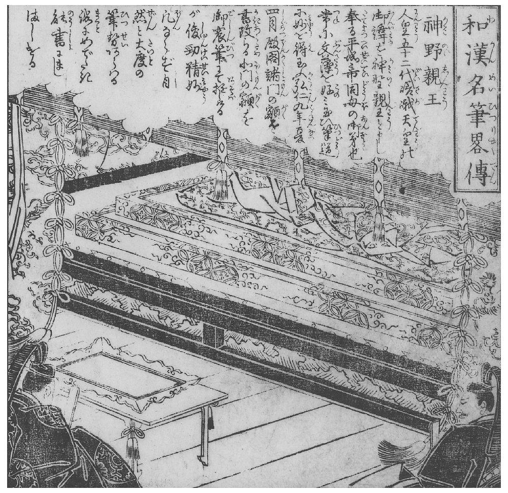 日本の能書家(三筆と三蹟) | 和本画像文庫